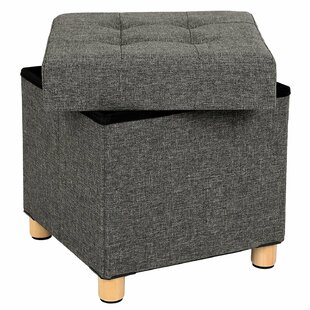 Superbe Collapsible Cube Storage Ottoman ...