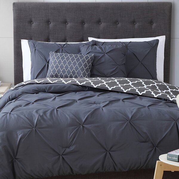 Amaratha Reversible Comforter Set by Willa Arlo Interiors