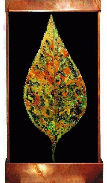 Galaxy Metal/Acrylic Florentine Leaf Fountain by Harvey Gallery