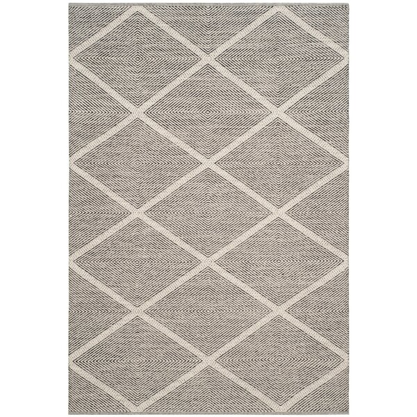 Shevchenko Place Hand-Woven Cream Area Rug by Wrought Studio