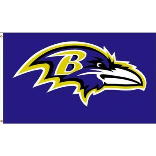 Baltimore Ravens Polyester 3 x 5 ft. Flag by NeoPlex