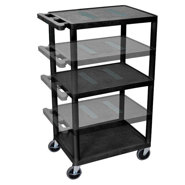 Endura Multi-Height 5 Shelf AV Cart by Offex