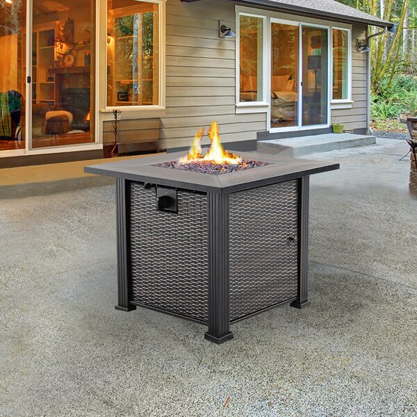 Stone Propane Fire Pit Table by NUU GARDEN CORPORATION