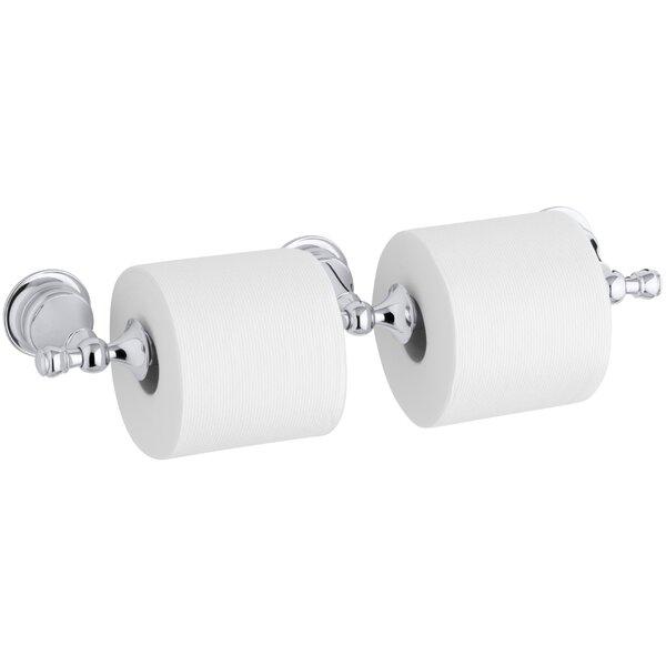 Revival Double Toilet Tissue Holder by Kohler