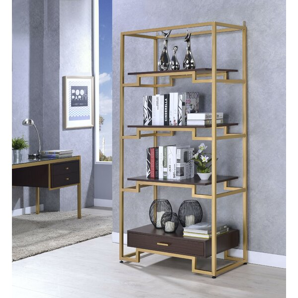 Trudy Etagere Bookcase by Everly Quinn Everly Quinn