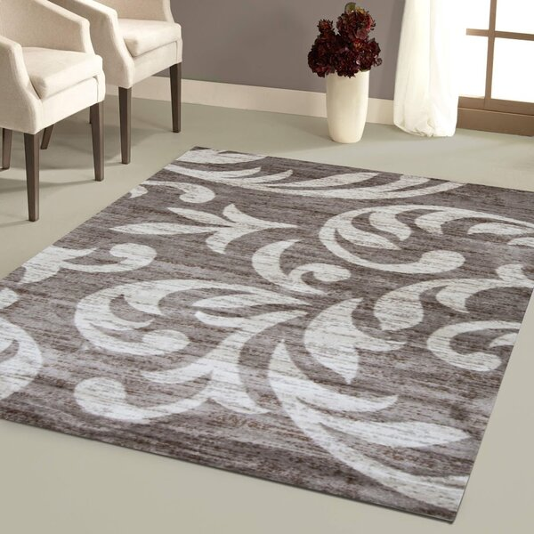 Nader Taupe/Cream Area Rug by Andover Mills
