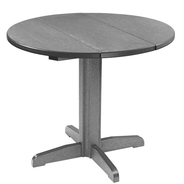 Cosentino Plastic Bar Table by Rosecliff Heights