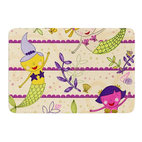 Under the Sea by Jane Smith Bath Mat by East Urban Home