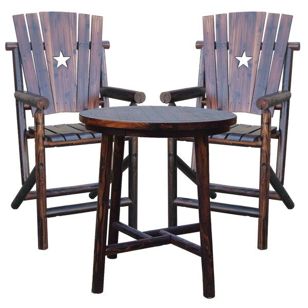 Char-Log 27 Patio Bar Stool by Leigh Country