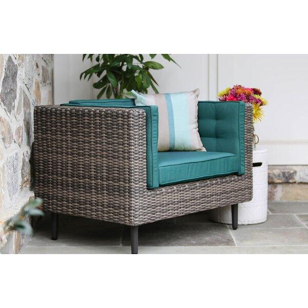 Kenn Single Patio Chair with Cushion by Brayden Studio