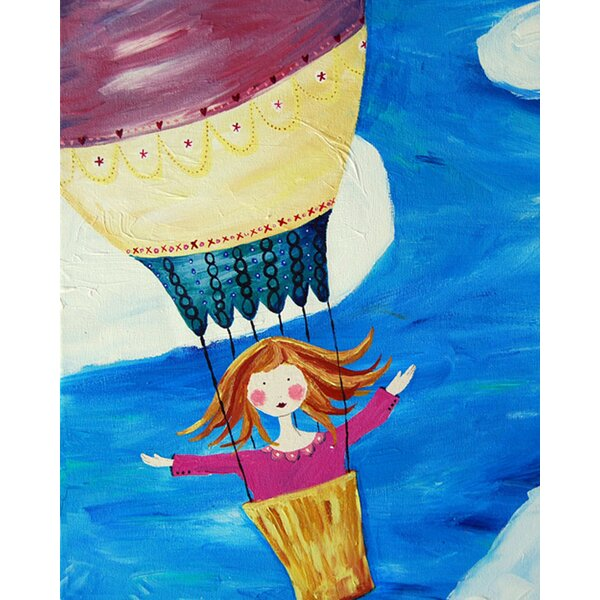Up Up and Away Paper Print by Cici Art Factory
