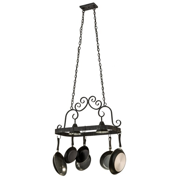 Elana 2 Light Pot Rack by Meyda Tiffany