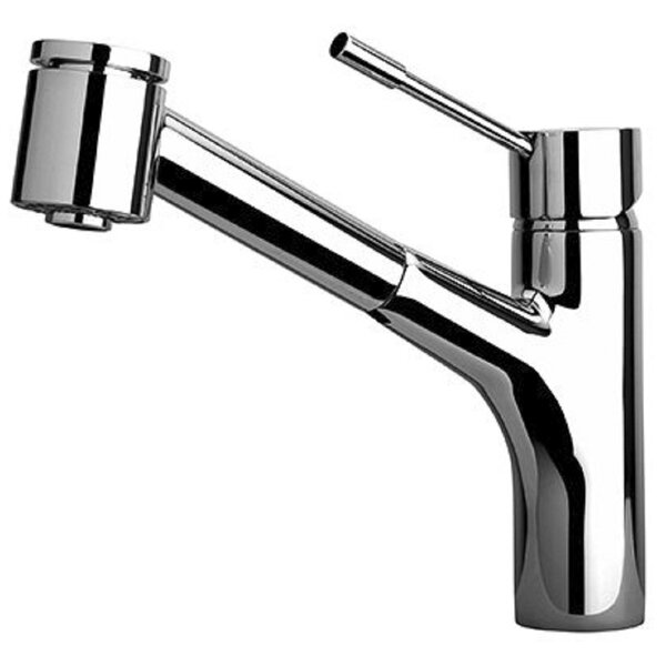 Elba Touch Single Handle Kitchen Faucet with Side Spray by LaToscana