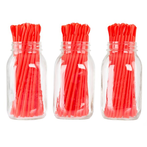 Aadi Spoon Straws, Service for 200 (Set of 200) by Rebrilliant