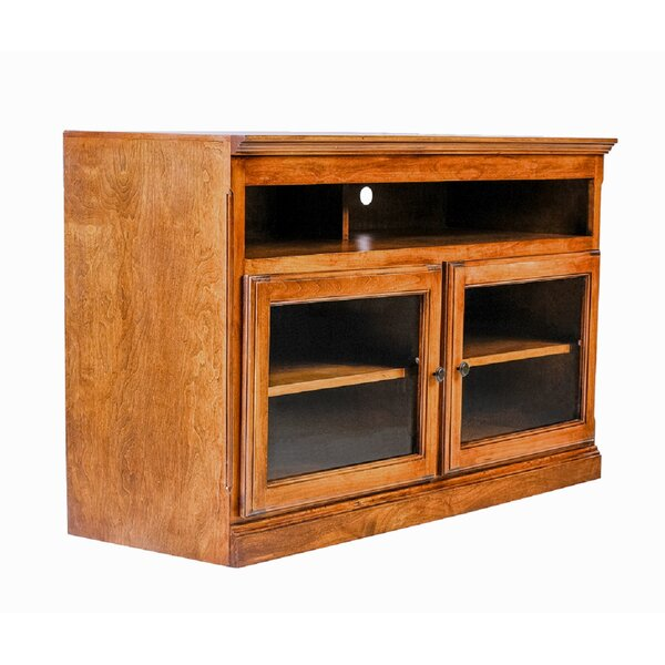 Solid Wood Floating TV Stand For TVs Up To 55 Inches By Forest Designs