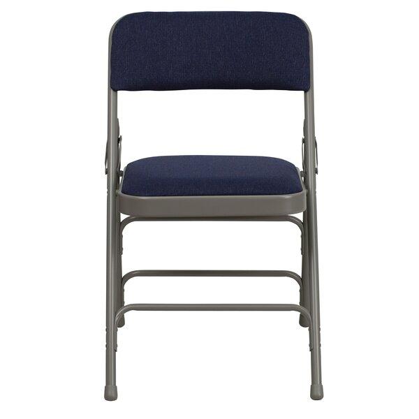 Laduke Fabric Padded Folding Chair by Symple Stuff