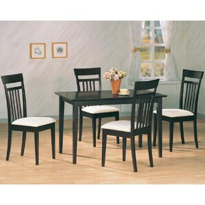 West Hollywood 5 Piece Dining Set by Wildon Home ®