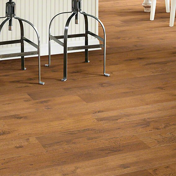 Palisades 5 x 48 x 12mm Hickory Laminate Flooring in Kingsbridge by Shaw Floors