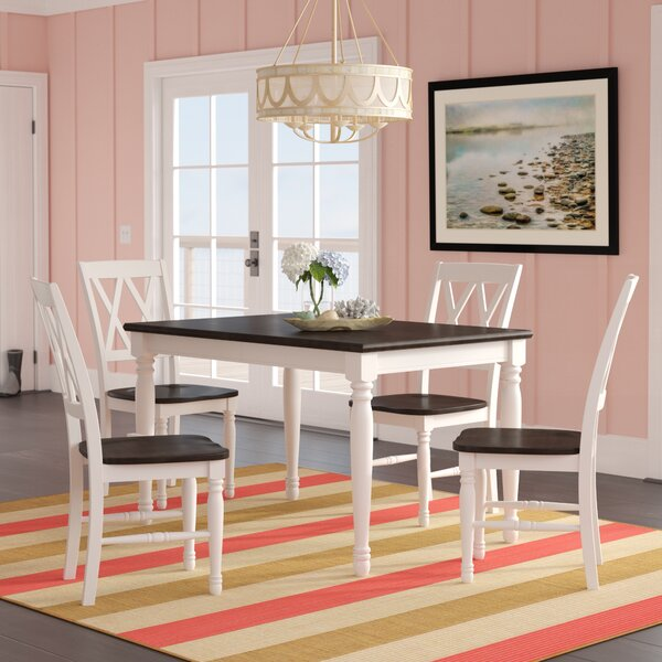 Kivalina 5 Piece Extendable Dining Set by Beachcrest Home