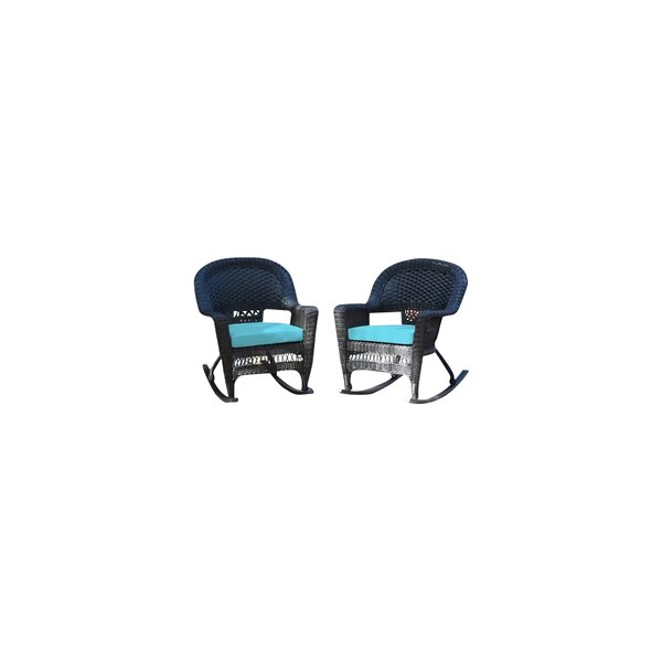 Burtch Wicker Rocking Chairs (Set Of 2) By Three Posts by Three Posts 2020 Coupon