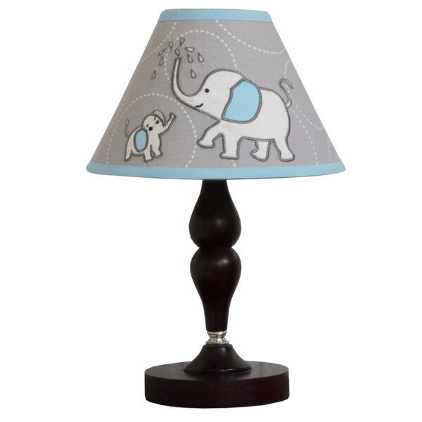 Blizzard Elephant Baby Nursery 10 Empire Lamp Shade by Geenny