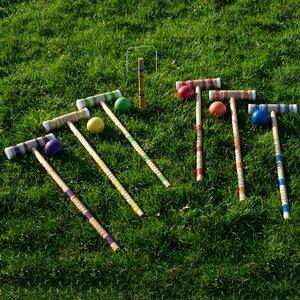 All-Star Croquet 24 Piece Game Set