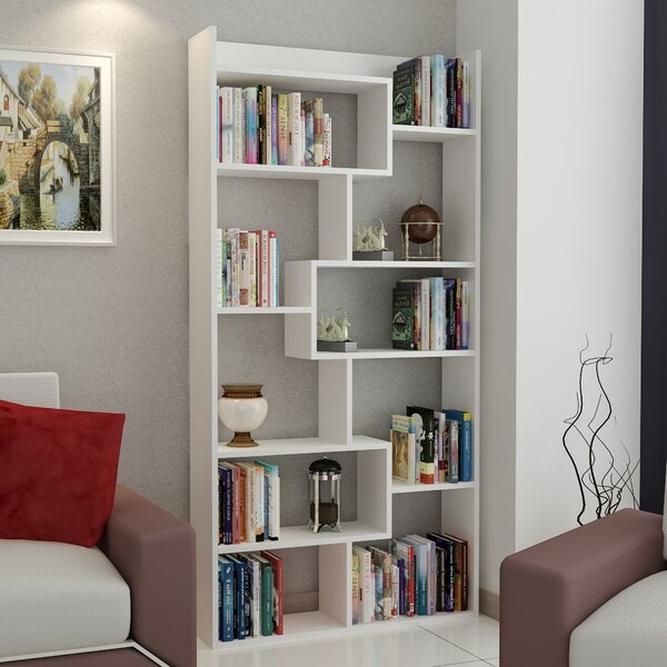 Canarsie Geometric Bookcase by Ivy Bronx