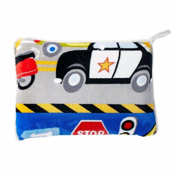 Jayapura Trains and Trucks Pillow by Zoomie Kids