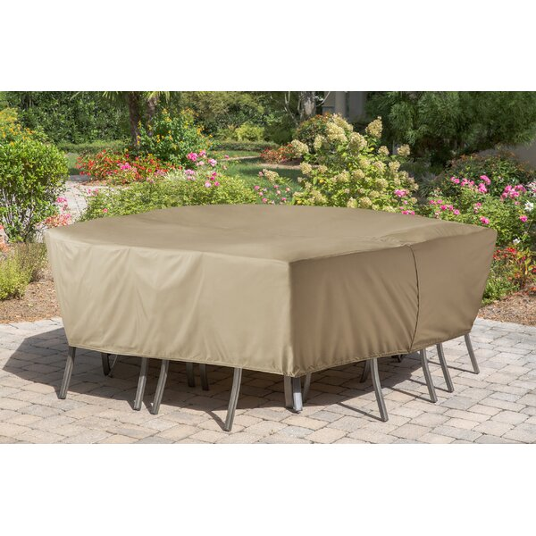 Vinyl Patio Dining Set Cover by Freeport Park
