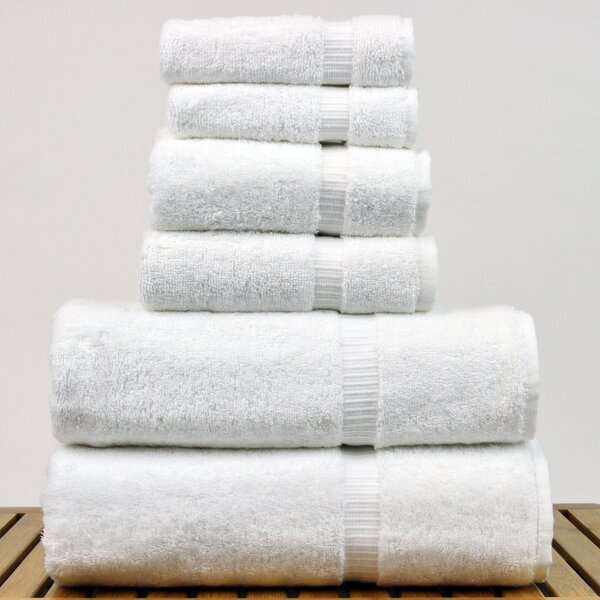 Finkelstein 6 Piece Turkish Cotton Towel Set by Darby Home Co