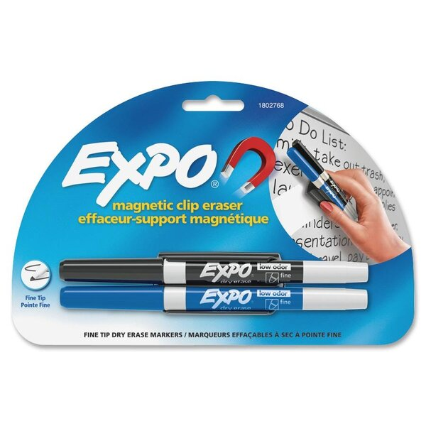 Dry Erase Markers and Magnetic Clip Eraser by Sanford Ink Corporation
