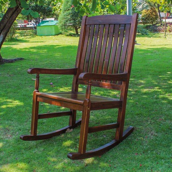 Pine Hills Rocking Chair by Beachcrest Home