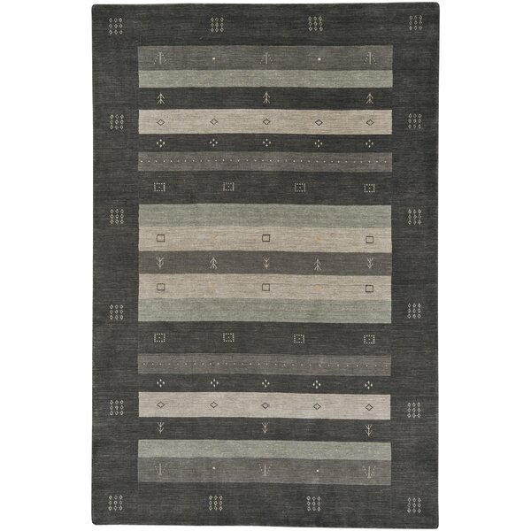 Gava Hand-Tufted Charcoal Area Rug by Capel Rugs