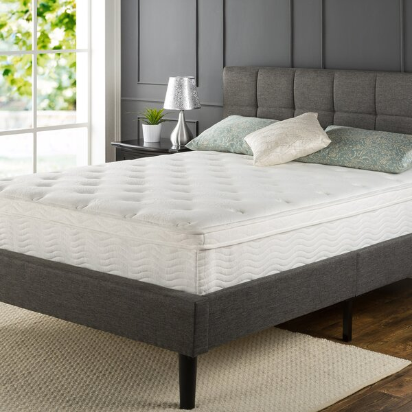 Lear 12 Medium Eurotop Innerspring Mattress by The Twillery Co.