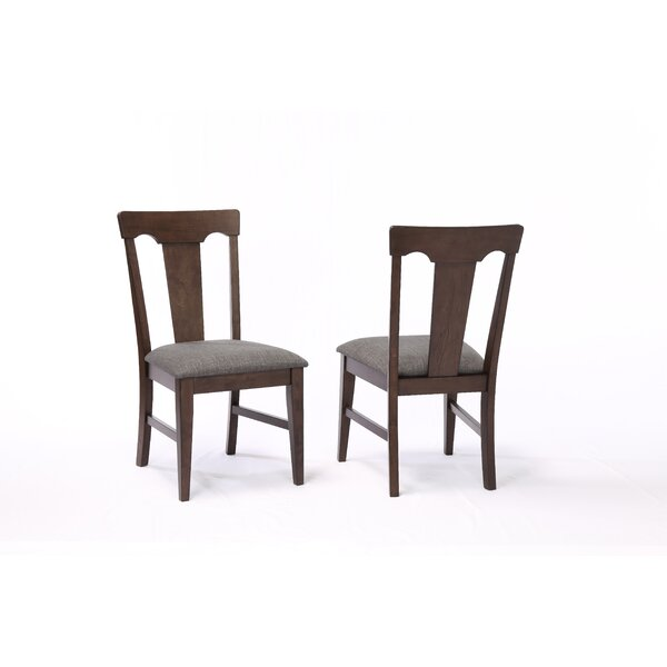 Yvonne Panel Back Dining Chair (Set of 2) by Gracie Oaks