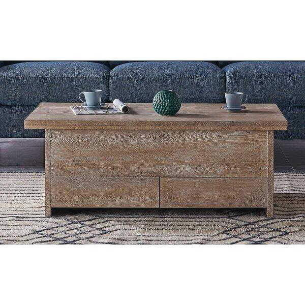 Mcgrew Coffee Table with Storage by Gracie Oaks