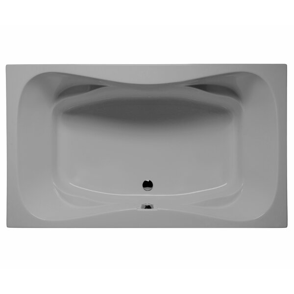 Oceanside 72 x 42 Air Jet Bathtub by Malibu Home Inc.