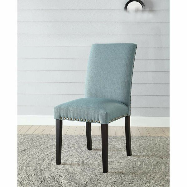 Meeks Transitional Parsons Chair by August Grove