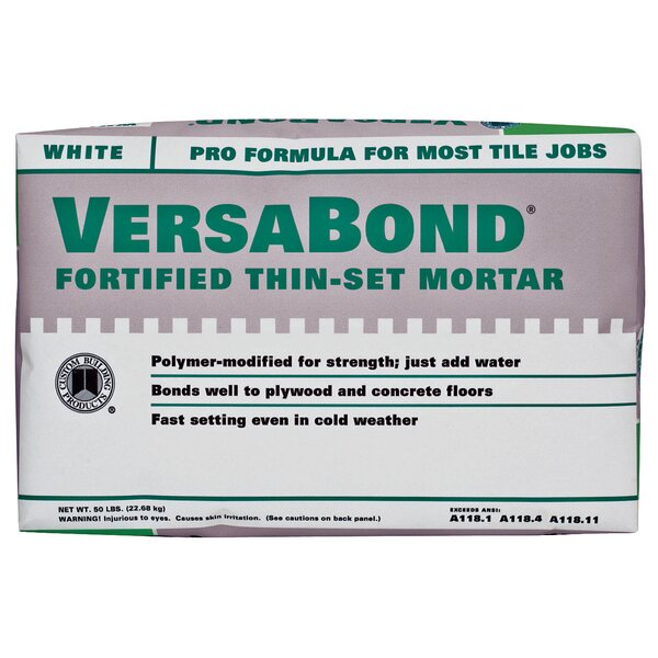 VersaBond Flex Fortified Thin Mortar Set 50lb by Custom Building Products