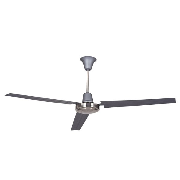 56 Oakhill 3-Blade Ceiling Fan by Charlton Home