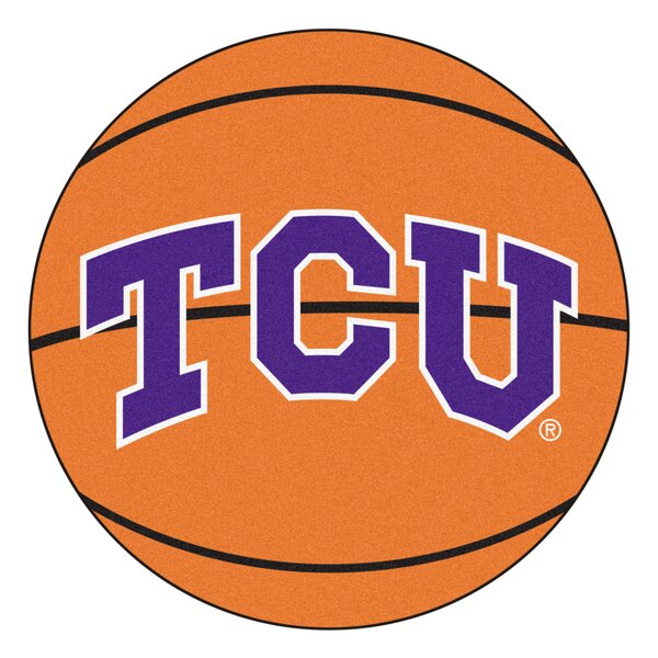 NCAA Texas Christian University Basketball Mat by FANMATS