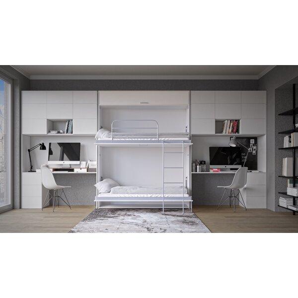 Corey Twin Murphy Bed with Mattress by Alwyn Home Alwyn Home
