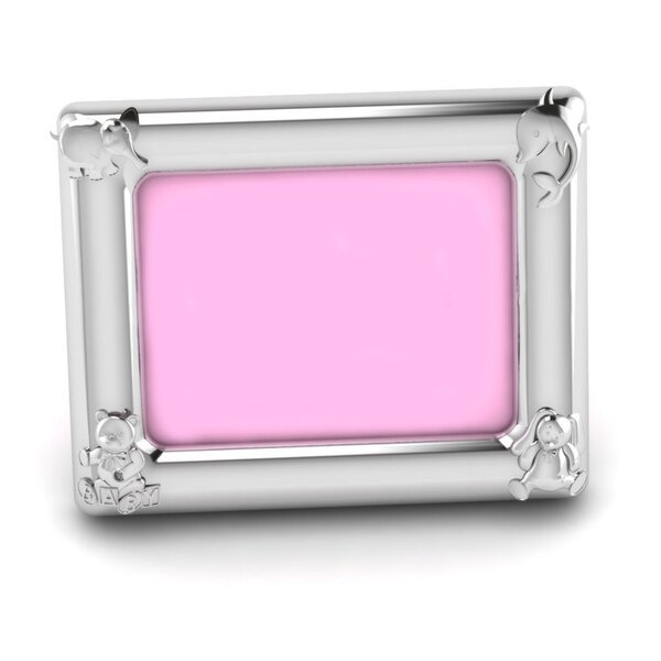 Whitworth Sterling Silver Animal Rectangle Picture Frame by Harriet Bee