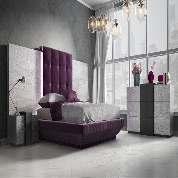 Helotes King Upholstered Bed by Orren Ellis