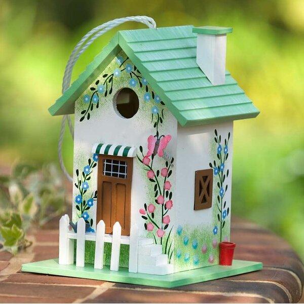 Green Butterfly 9.8 in x 7 in x 7 in Birdhouse by Plow & Hearth
