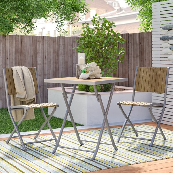 Allen 3 Piece Bistro Set by Beachcrest Home