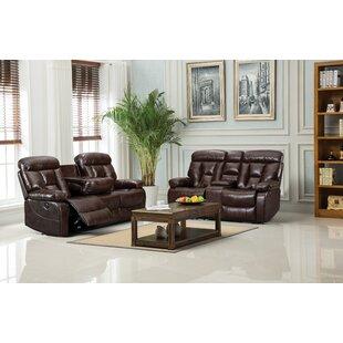 Halvard Nationwide 3 Piece Reclining Living Room Set by Red Barrel Studio®