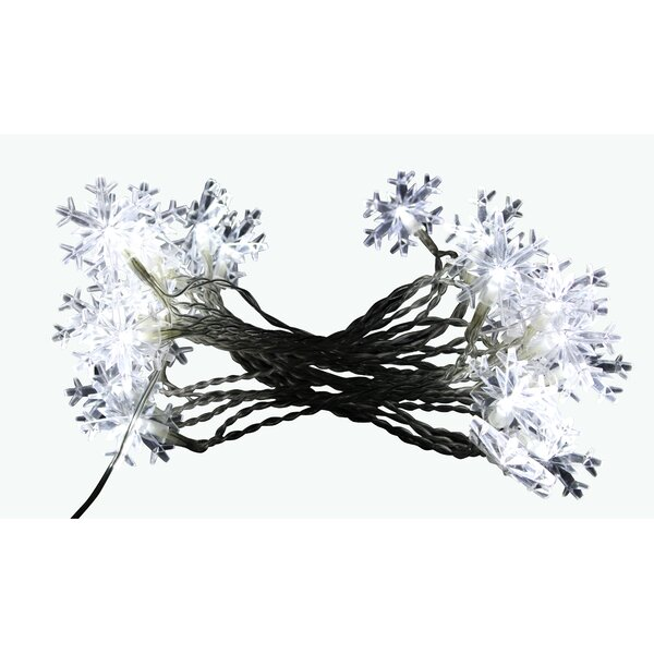 Snowflake String Lights Christmas Decoration by Alpine