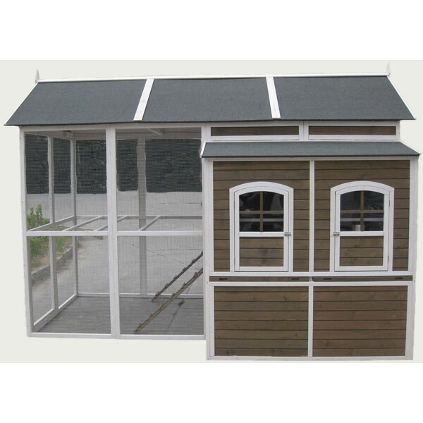 Feathers Chicken Coop with Roosting Bar by Innovat