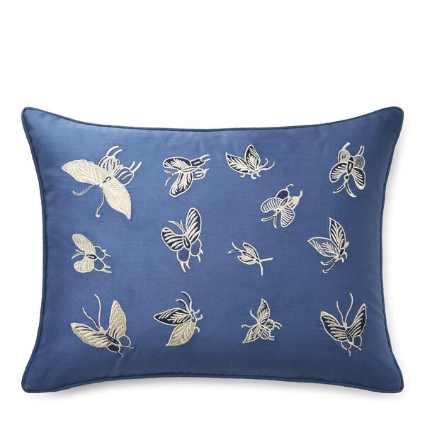 Josephina Embroidery Cotton Lumbar Pillow by Lauren Ralph Lauren